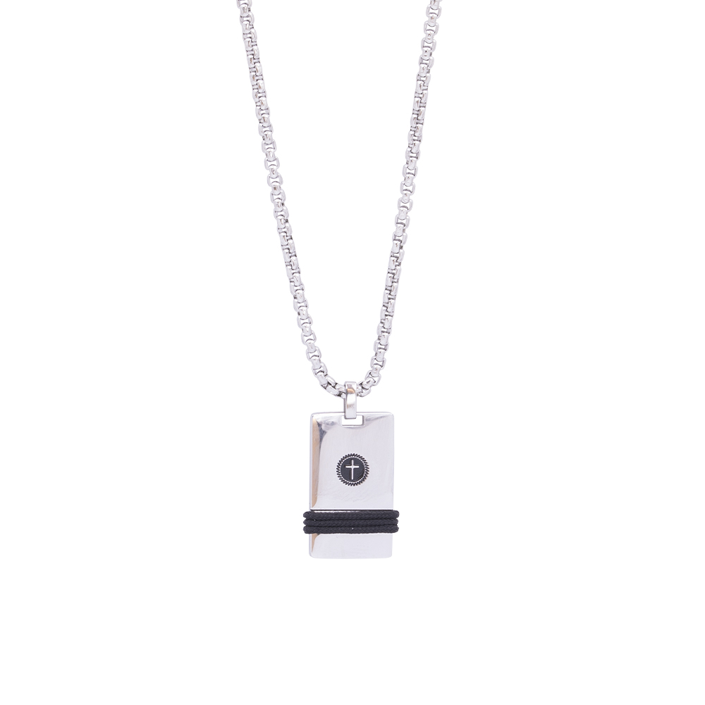 Man Reflect collana in acciaio P16198 For You Jewels