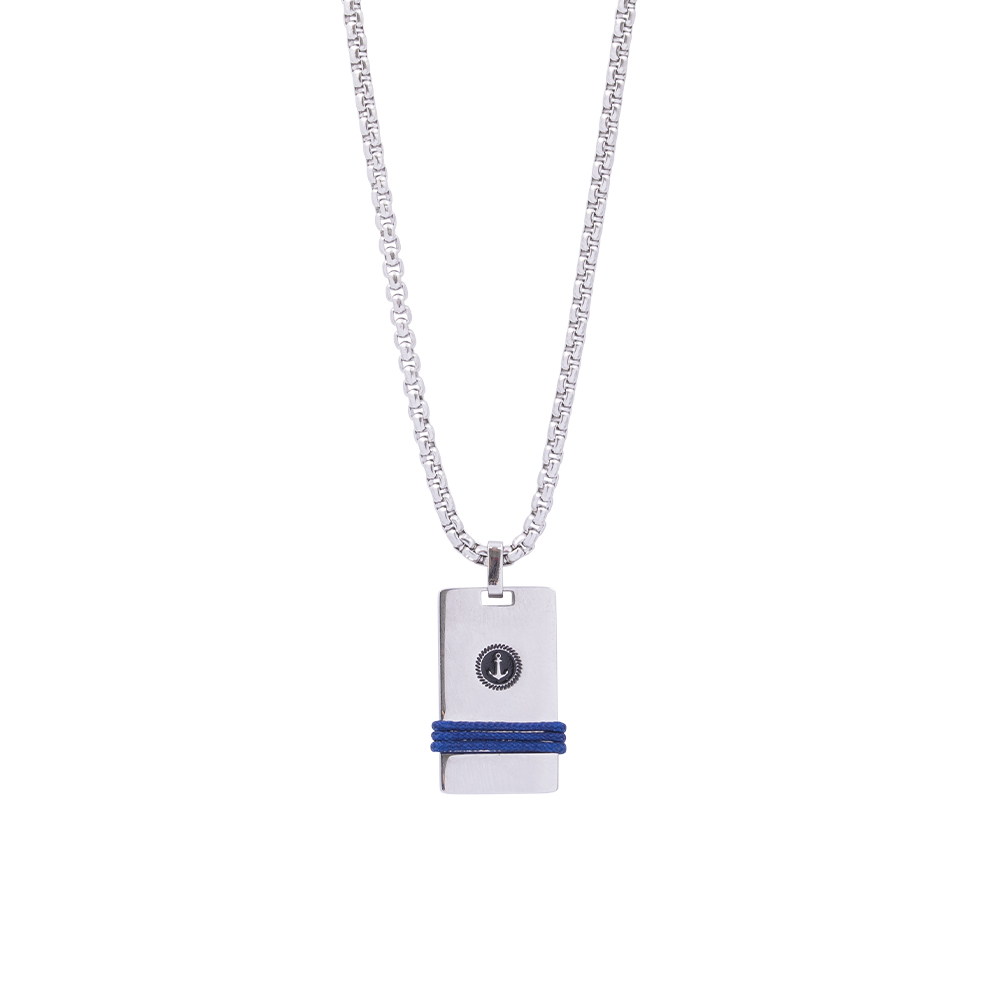 Man Reflect collana in acciaio P16199 For You Jewels