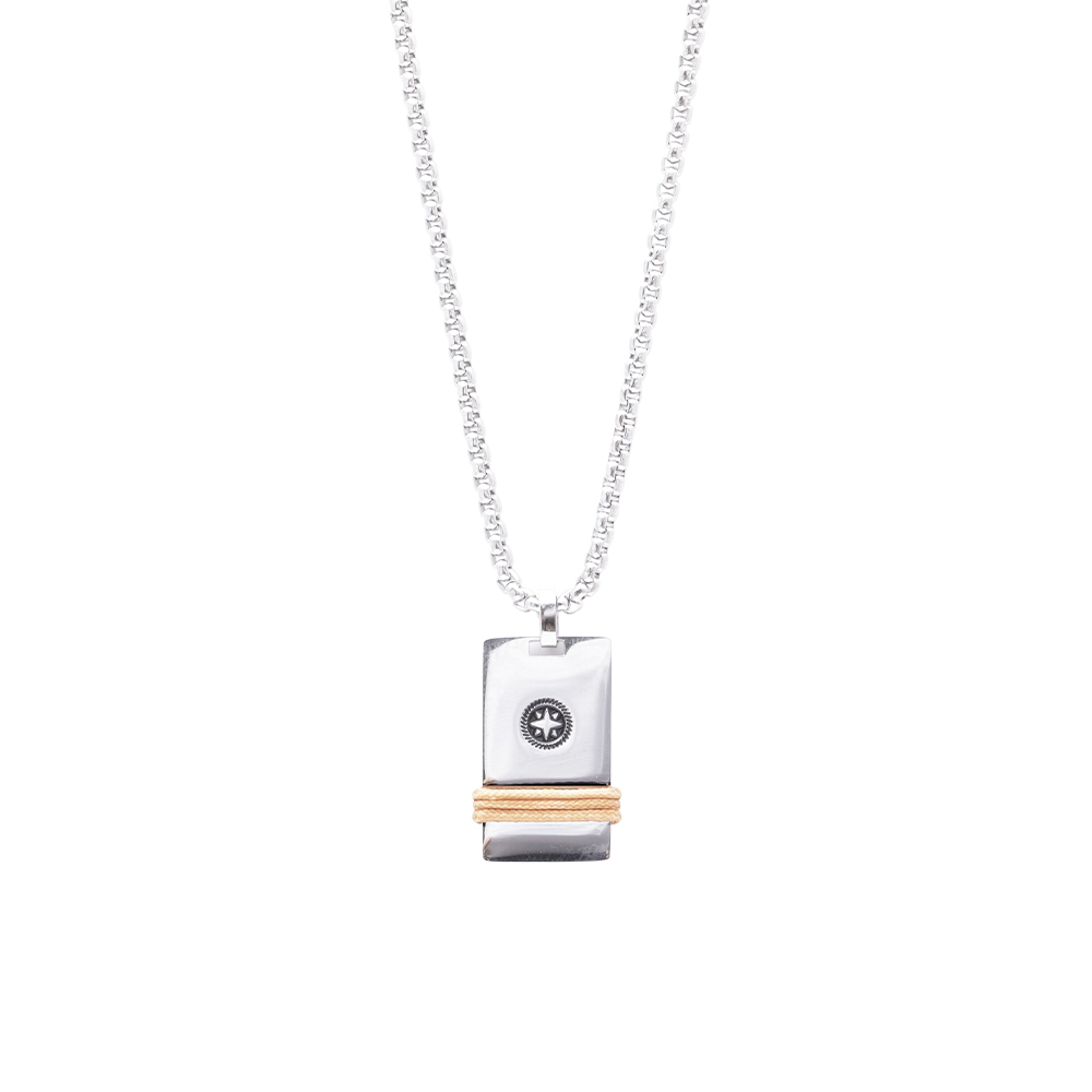 Man Reflect collana in acciaio P16200 For You Jewels