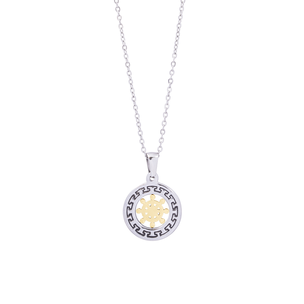 Man Reflect collana in acciaio P16206 For You Jewels