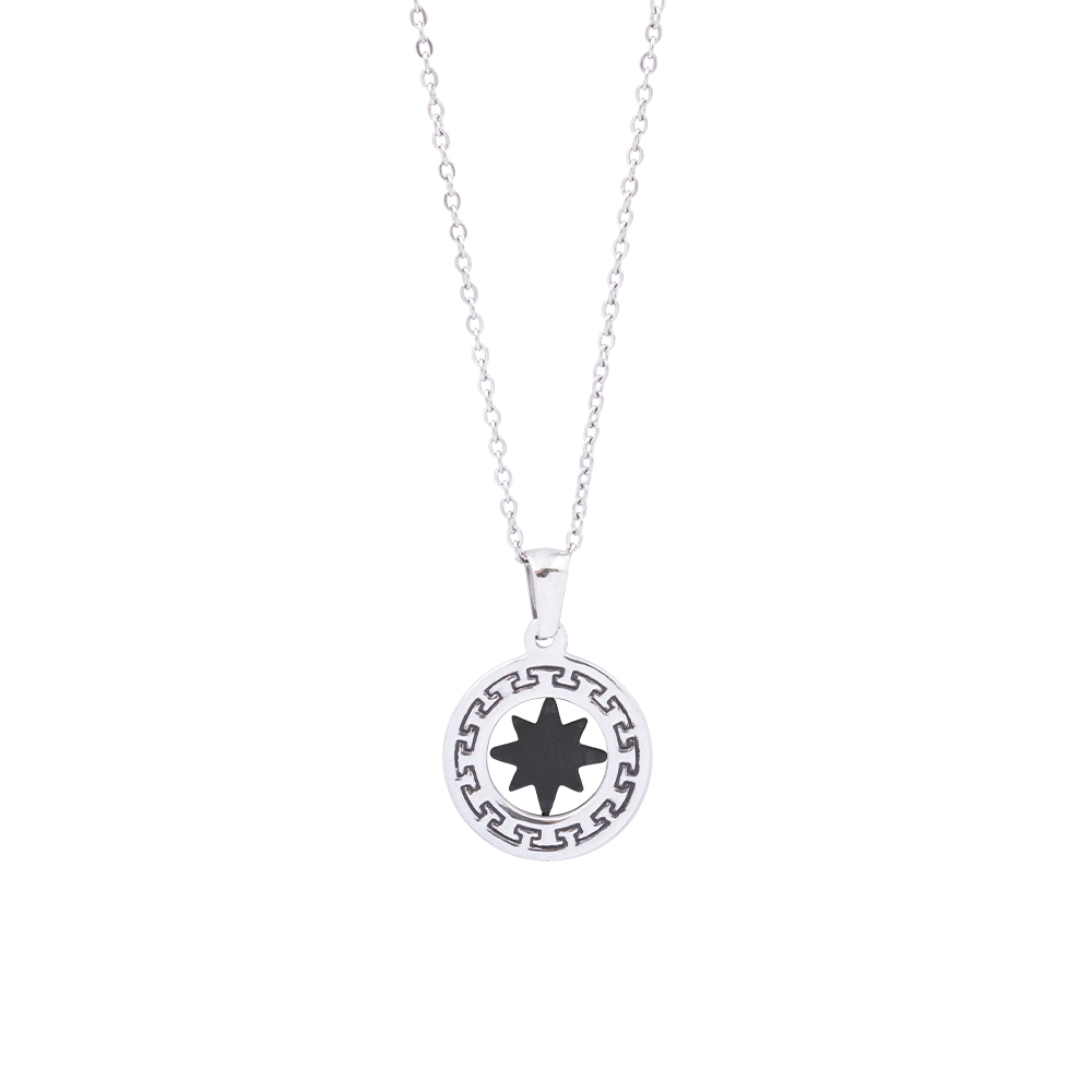 Man Reflect collana in acciaio P16207 For You Jewels