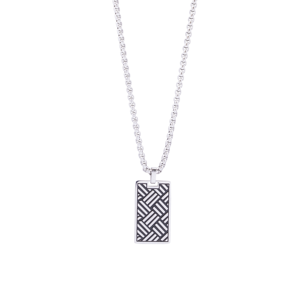 Man Reflect collana in acciaio P16211 For You Jewels