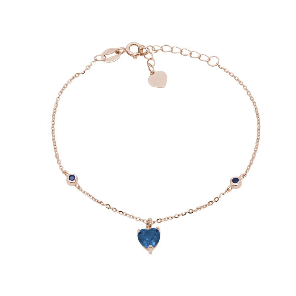 Nikki bracciale in argento 925‰ rosato e zirconi B15502PS For You Jewels