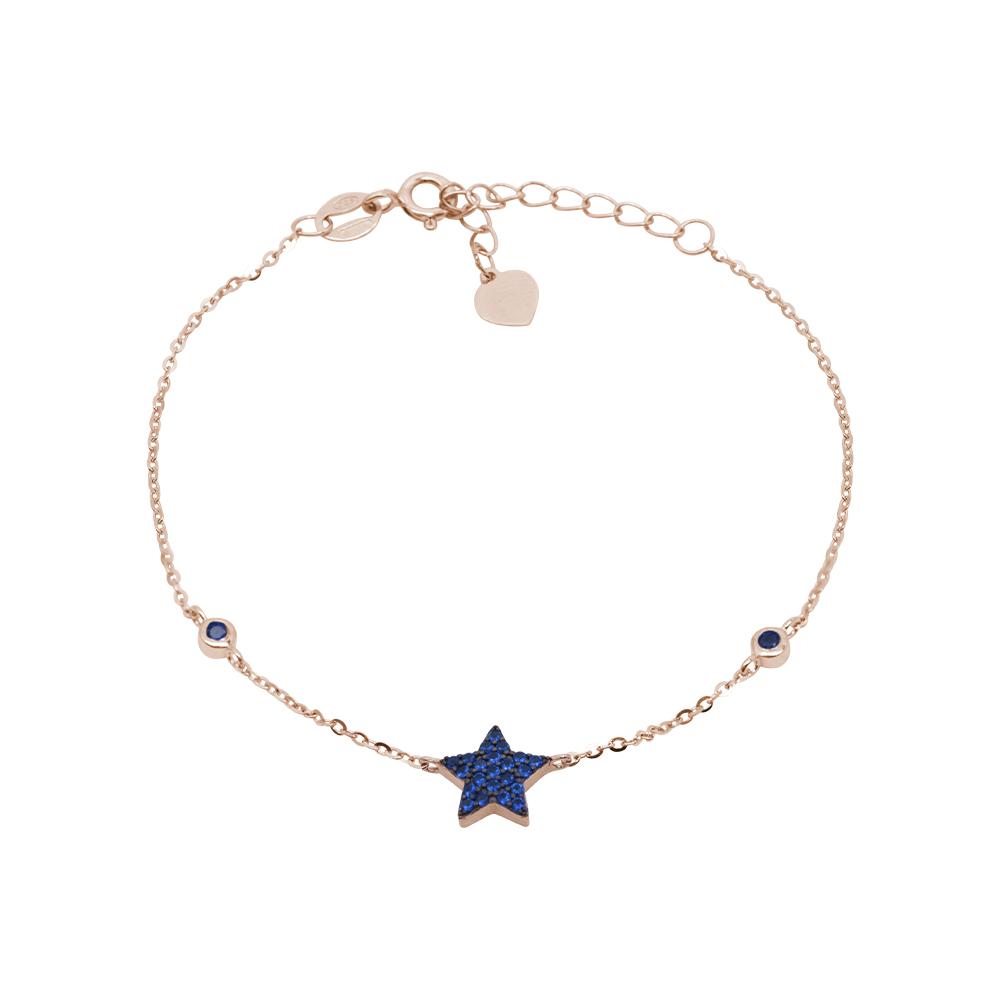 Noreen bracciale in argento 925‰ rosato e zirconi B08605PS For You Jewels